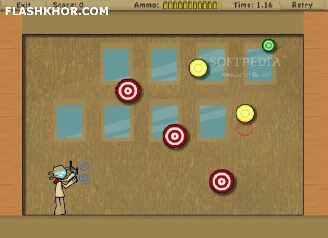 بازی آنلاین گلوله مخرب - تیر اندازی فلش