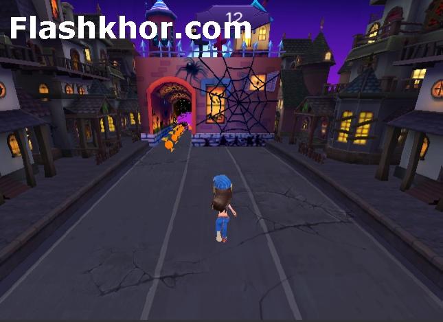 بازی جشن هالووین برای کامپیوتر دخترانه آنلاین