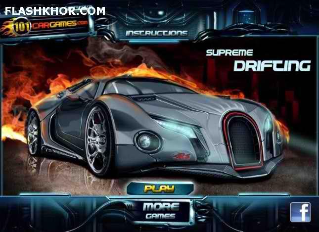بازی آنلاین supreme drifting فلش