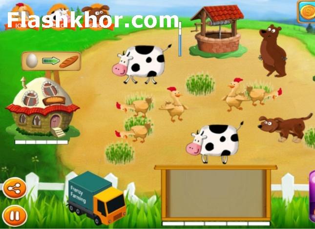 بازی دامداری برای کامپیوتر و کشاورزی آنلاین