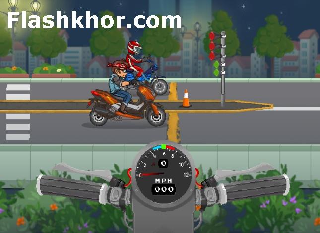 بازی موتور سواری در شهر آنلاین اندروید کامپیوتر