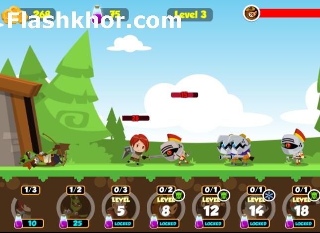 بازی نبرد قهرمانان اندروید جنگی کامپیوتر انلاین