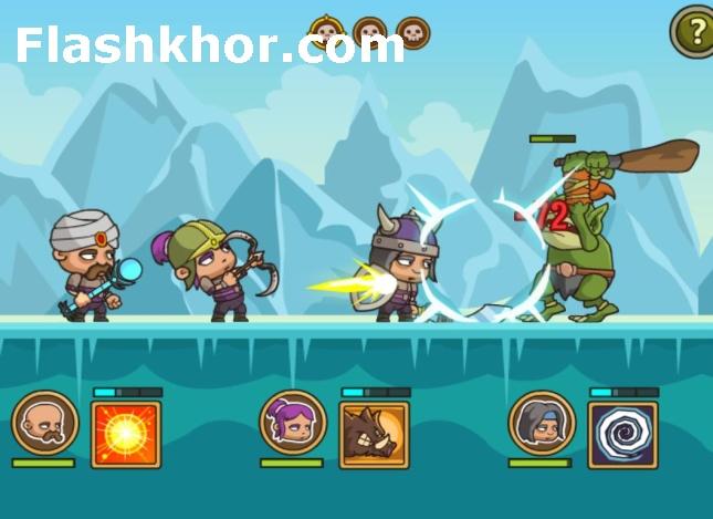 بازی پادشاهی حمله 3 انلاین برای کامپیوتر