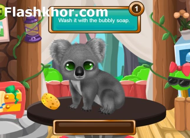 بازی نگهداری از حیوانات باغ وحش اندروید کامپیوتر انلاین