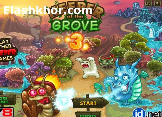 بازی دفاع از قلعه اندروید جدید محافظان جنگل کامپیوتر