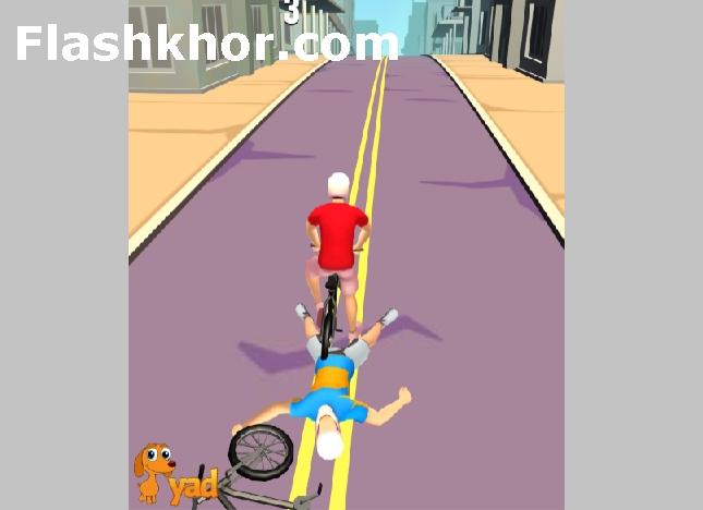 بازی دوچرخه سواری کودکانه اندروید در شهر کامپیوتر