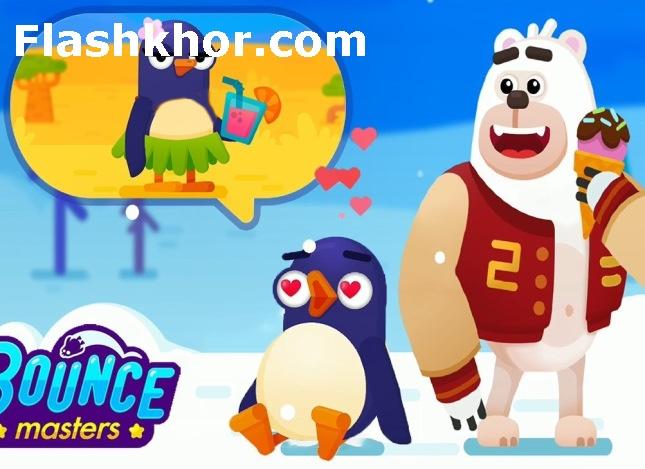 بازی پرتاب پنگوئن جدید رایگان اندروید