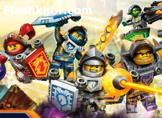 بازی لگو نینجاگو برای موبایل اندروید انلاین