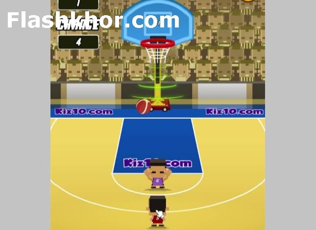 بازی بسکتبال پرتابی رکوردی اندروید آنلاین کامپیوتر