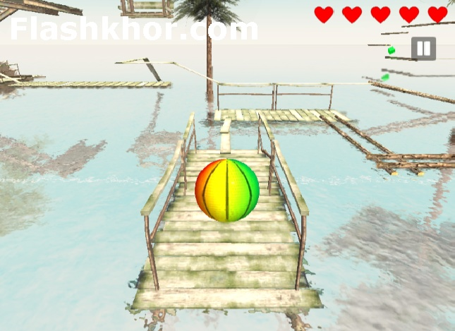 بازی فیزیکی سه بعدی اندروید در جزیره انلاین