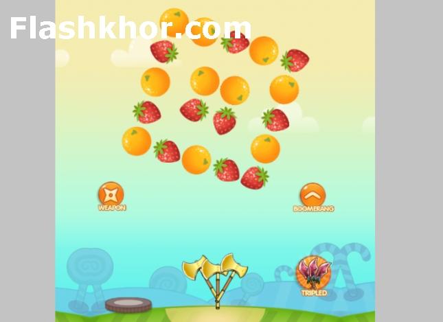 بازی پرتاب چاقو به میوه جدید اندروید کامپیوتر