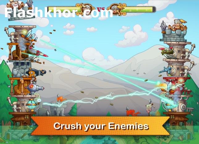 بازی برج های دفاعی اندروید کامپیوتر آنلاین