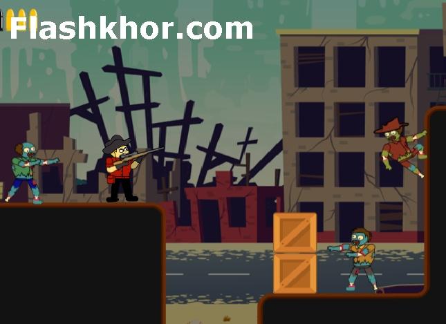 بازی زامبی ها مردگان قاتل اندروید کامپیوتر آنلاین