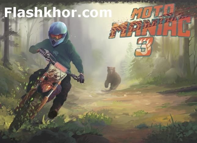 بازی موتور سواری فوق العاده اندروید در جنگل