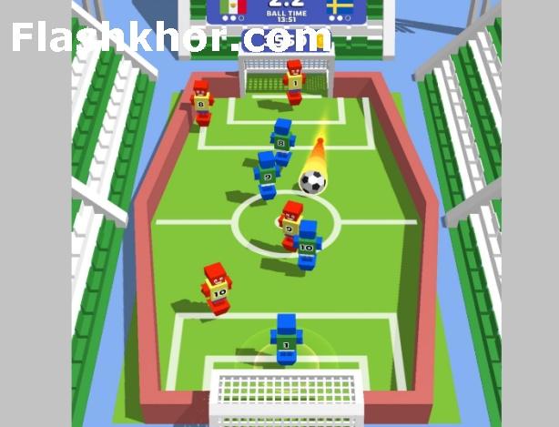بازی فوتبال دستی آنلاین اندروید اینترنتی