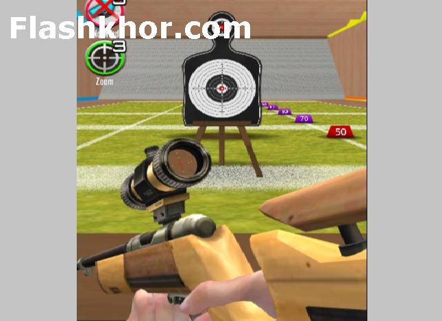 بازی هدف گیری با تفنگ اسلحه برای کامپیوتر انلاین