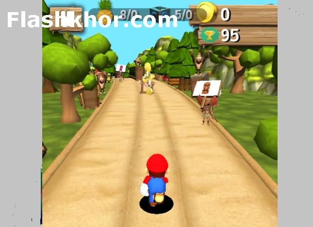 بازی ماریو ران سه بعدی جدید برای اندروید کامپیوتر