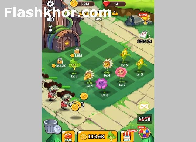 بازی گیاهان علیه زامبی ها 3 برای کامپیوتر اندروید آنلاین