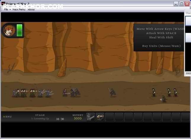 بازی آنلاین شاهزاده جنگ 2 - استراتژی جنگی فلش