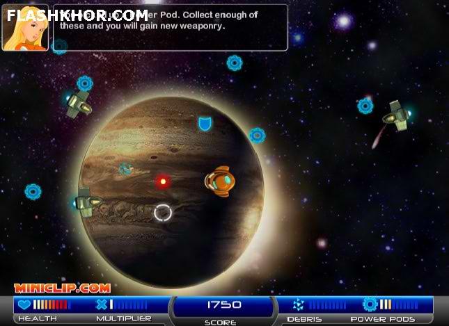 بازی آنلاین aliens must die فلش