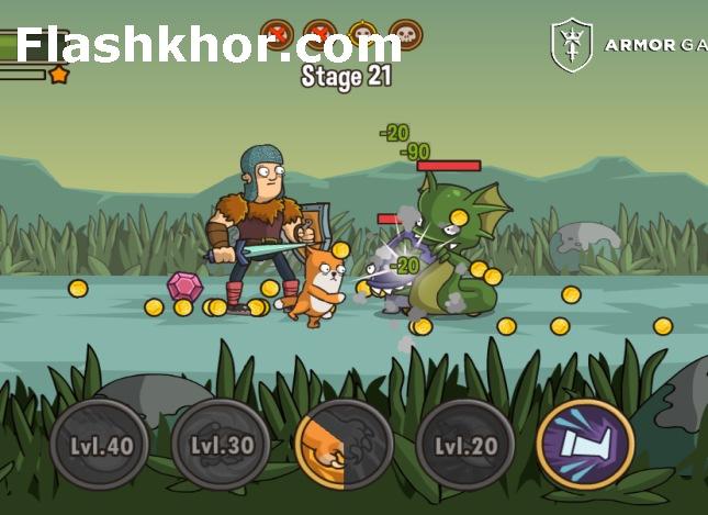 بازی جنگی شمشیری قدیمی افلاین اندروید کامپیوتر