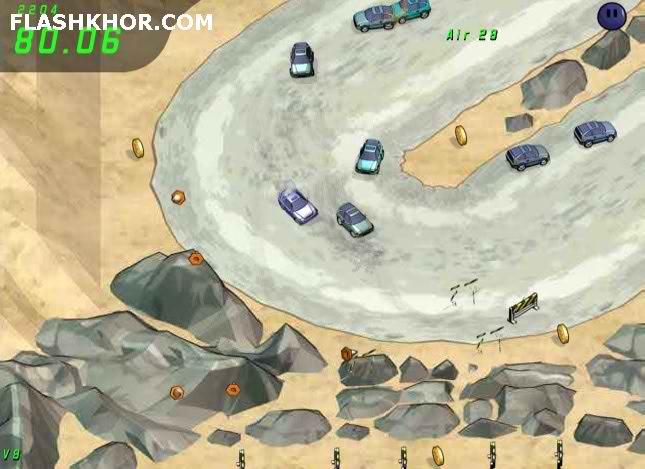 بازی آنلاین Drift Runners فلش