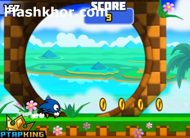 بازی sonic dash 2 کامپیوتر pc جدید سگا