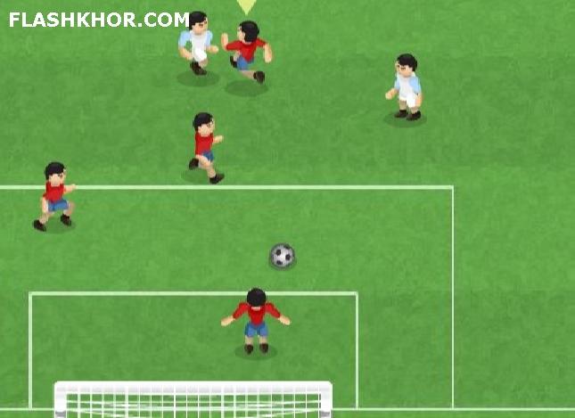 بازی آنلاین the champions 2 فوتبال فلش
