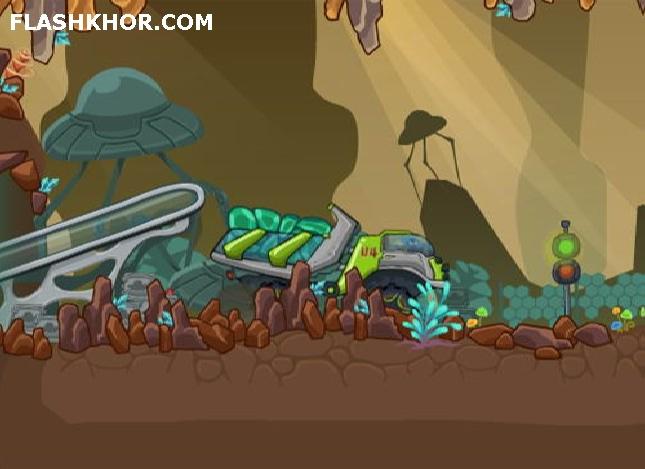 بازی آنلاین کامیون فضایی ها فلش