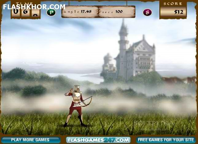 بازی آنلاین مبارزه تیراندازی با کمان - تیر و کمان فلش