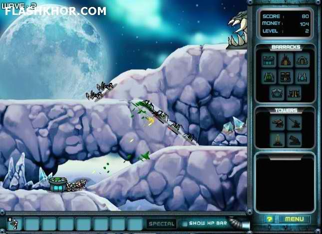 بازی آنلاین alliant فلش