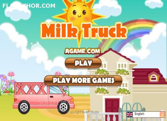 بازی آنلاین ماشین حمل شیر فلش