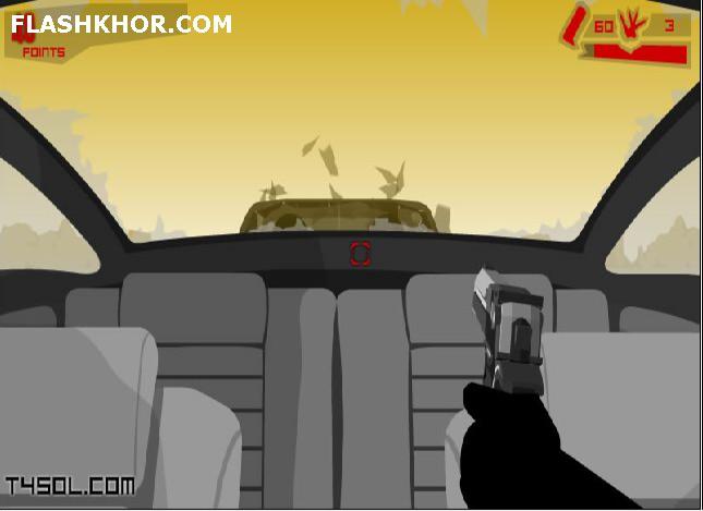 بازی آنلاین دیوانگی وینی  در جاده کویری - اکشن فلش