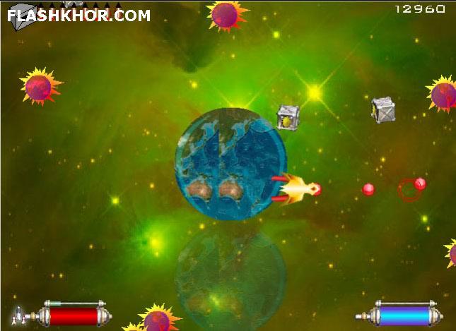 بازی آنلاین ماموریت 2012 - تیر اندازی فلش