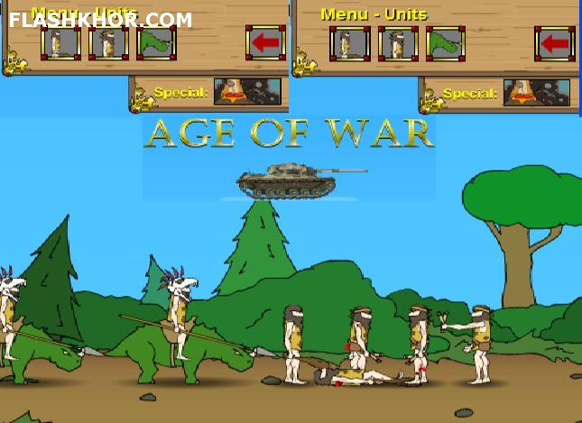 بازی آنلاین دوران جنگ - استراتژی فلش