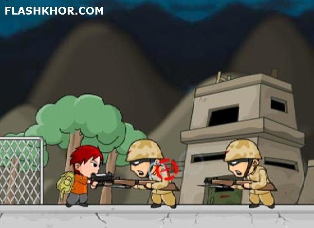 بازی آنلاین عملیات نجات - تیر اندازی فلش