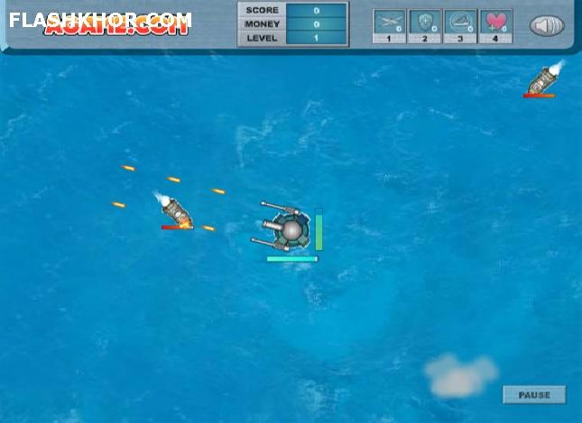 بازی آنلاین برج دریایی - تیر اندازی فلش