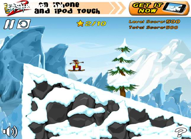 بازی آنلاین اسکی سواری 2 - ورزشی فلش