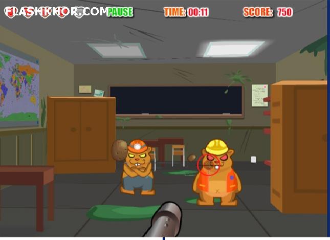 بازی آنلاین غول تغییر پذیر - تیر اندازی 3D فلش