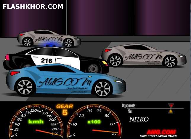 بازی آنلاین ماشین سوار مسابقه لاستیک کشی ایرانی - ورزشی فلش