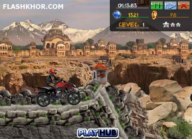 بازی آنلاین آ تی وی رعد آسا - ماشین سواری ورزشی فلش