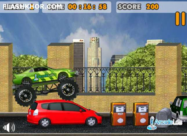 بازی آنلاین اسب وحشی دیوانه دو - ماشین سواری ورزشی فلش
