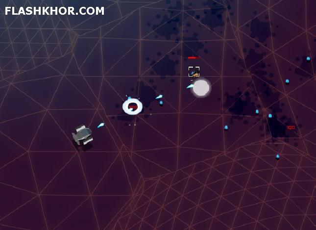 بازی آنلاین ربات با اسلحه های سنگین -  اکشن   فلش