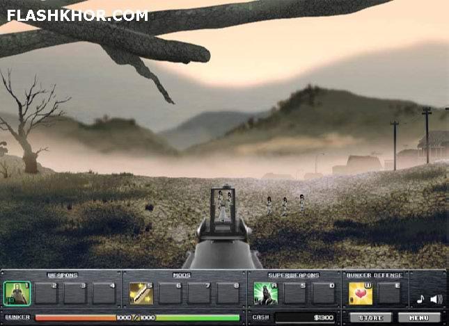 بازی آنلاین آخرین خط دفاع - تیر اندازی جنگی فلش