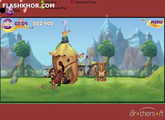 بازی آنلاین راندن گراز عصبانی - ورزشی فلش