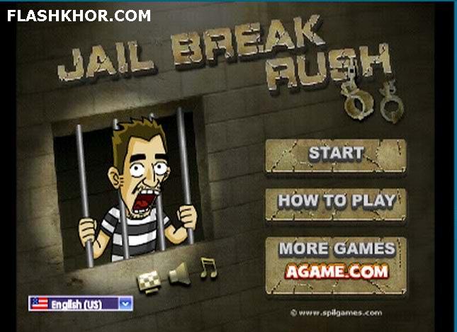 بازی آنلاین فرار از زندان با عجله - ماجرایی اکشن فلش