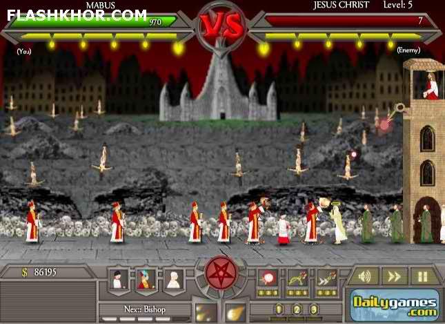 بازی آنلاین جنگ آخر زمان - استراتژی جنگی فلش
