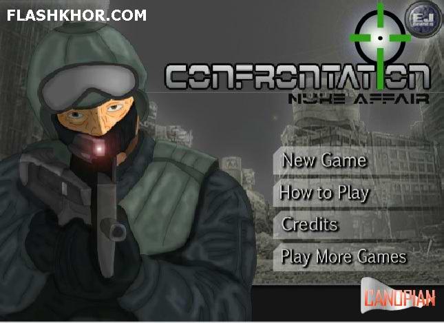 بازی آنلاین رویارویی ارتش ها - دو نفره جنگی چند فلش