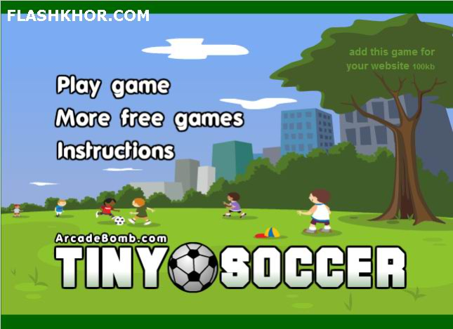بازی آنلاین فوتبال کوچک - ورزشی فلش