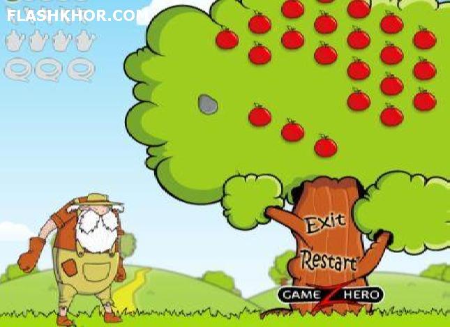 بازی آنلاین چیدن میوه 2 - تیراندازی  فلش
